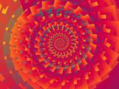 fractal, spiral, abstract