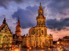 dresden, german, hofkirche