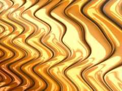 art, fractal, gold