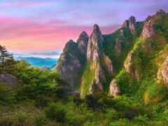 korea, landscape, natural