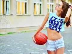 баскетбол, песнь, живот