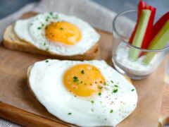 яйцо, yaichnica, scramble
