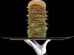 чизбургер, calory, nutrition