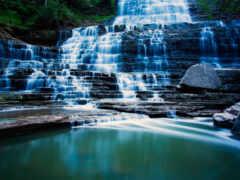 водопад, oir