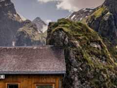 пейзаж, окно, summit