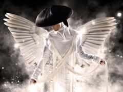 ангела, свет, красивый