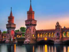 germanii, мост, berlin