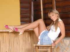 ножки, голые, женские