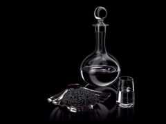 икра, водка, black