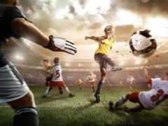 футбол, фотообои, команда