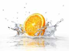 water, pic, оранжевый