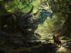 дракон, deviantart, servantofentropy
