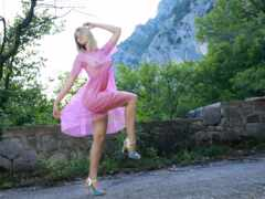 erotica, розовый, upskirt