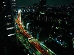 tokio, автострада, огонь