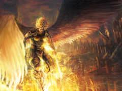 крылья, фэнтези, воители