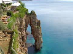 antalya, море, скалы