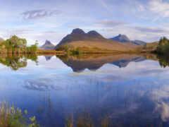 озеро, природа, landscape
