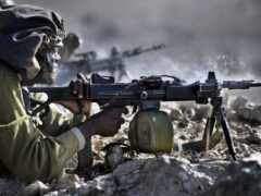 israeli, ручной, пулемет