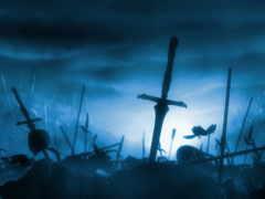 поле, битвы, боя