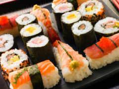 sushi, роллы, роллов
