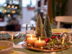 Рождество, свеча