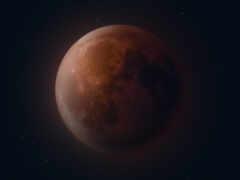 луна, eclipse, лунно