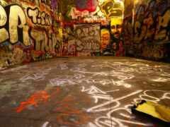 graffiti, стена, graffito