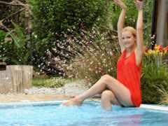 şəkillər, swimming, бассейн