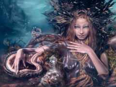 fantasy, goddess, god