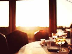 ресторан, fond, bien