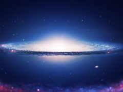 galaxy, спиральная, космос