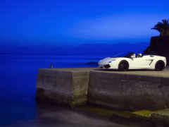 lamborghini, авто, море