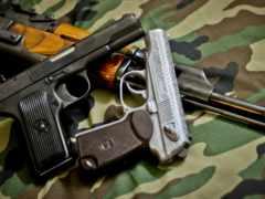 firearm, ак, пистолет