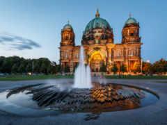berlin, cathedral, berliner Фон № 161716 разрешение 2500x1667