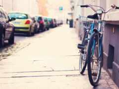 велосипед, улица, bike