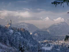 winter, germanii, гора