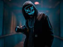 маска, аноним, purge