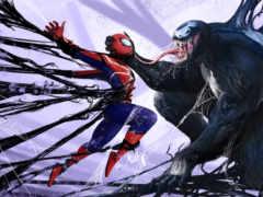 venom, marvel, паук