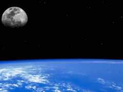 land, planet, луна