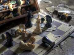 chess, доска, рисунок
