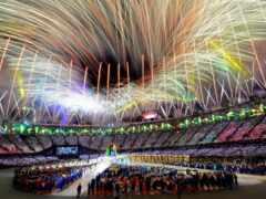 game, олимпийский, closing