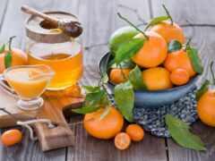 tangerine, juice, цитрус