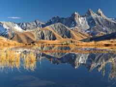 альпы, гора, песочница