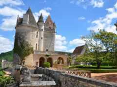 milandes, castle, город