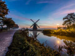 нидерланды, нидерланды, утро