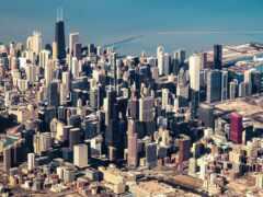 chicago, urban, небоскрёба