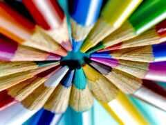 pencil, color