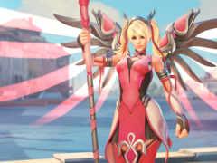 overwatch, mercy, ангела