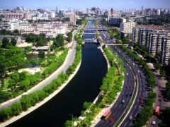 paisaje, urbano, arquitectura