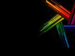 радуга, black, crystal
